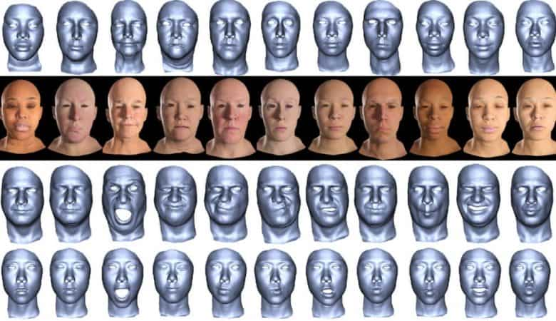 Flexible expressions could lift 3D-generated faces out of the uncanny valley 5