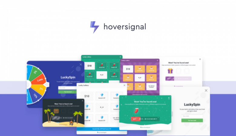 Engage your Website Users and Maximize Your Sales with HoverSignal Gamification Marketing 7