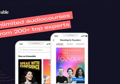 Learn From Successful Entrepreneurs with This On-Demand Audio Learning Platform 10