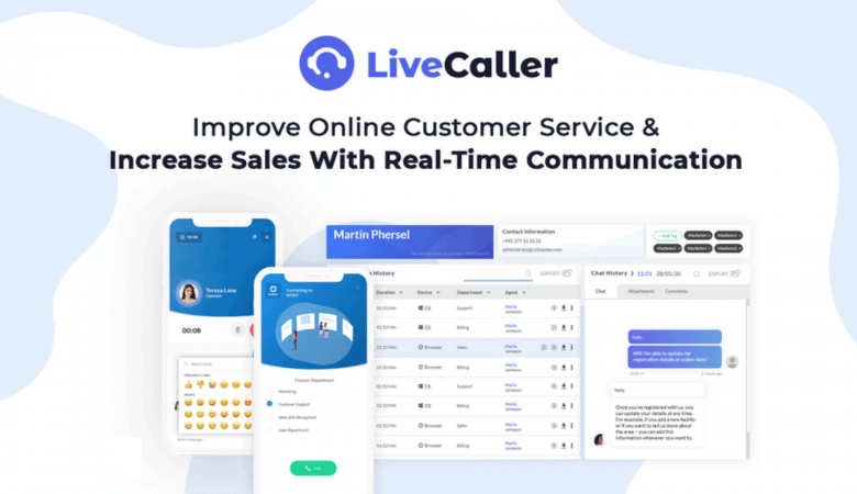 Live Call and Web Call From Your Website with LiveCaller 5