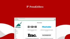 PressKitHero Lifetime Deal