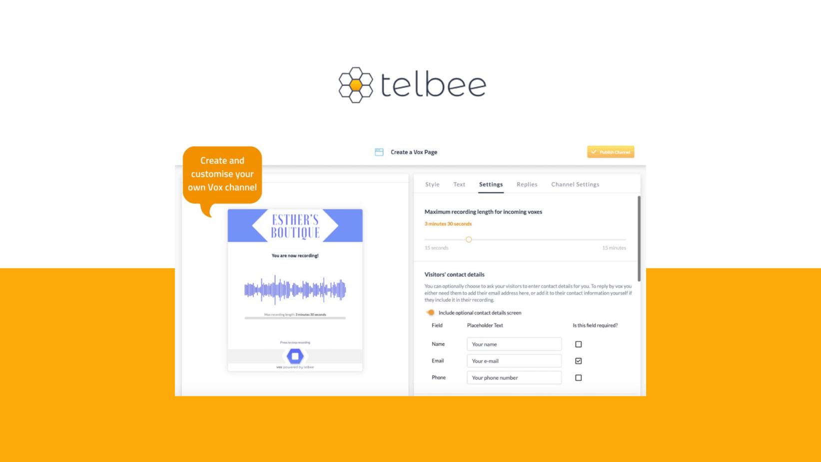 Telbee lifetime deal