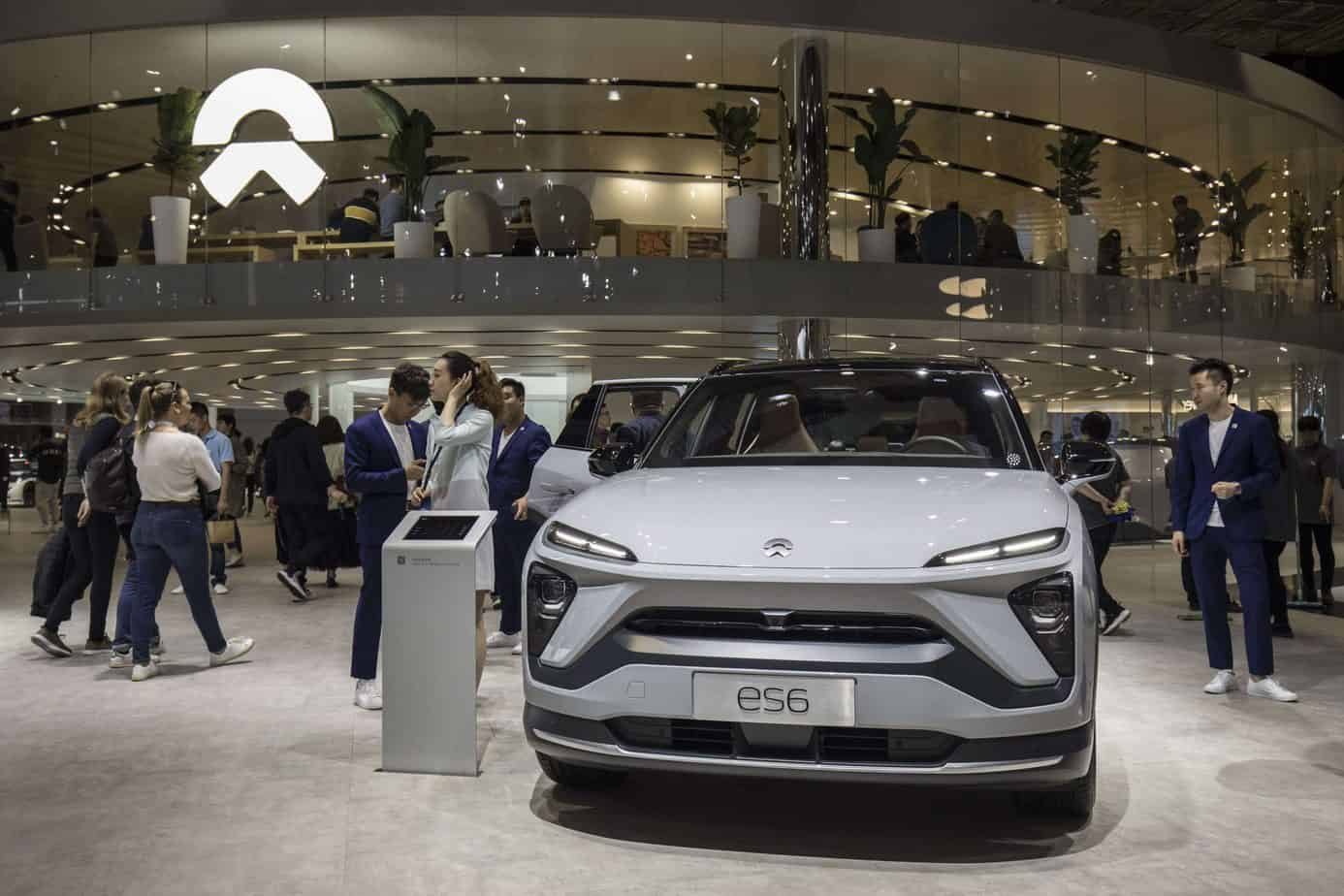 Tesla's Chinese rival NIO is up 1,200% this year