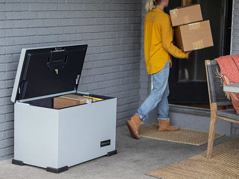 This Intelligent Lockable Box Can Help Protect Your Delivered Packages From Theft