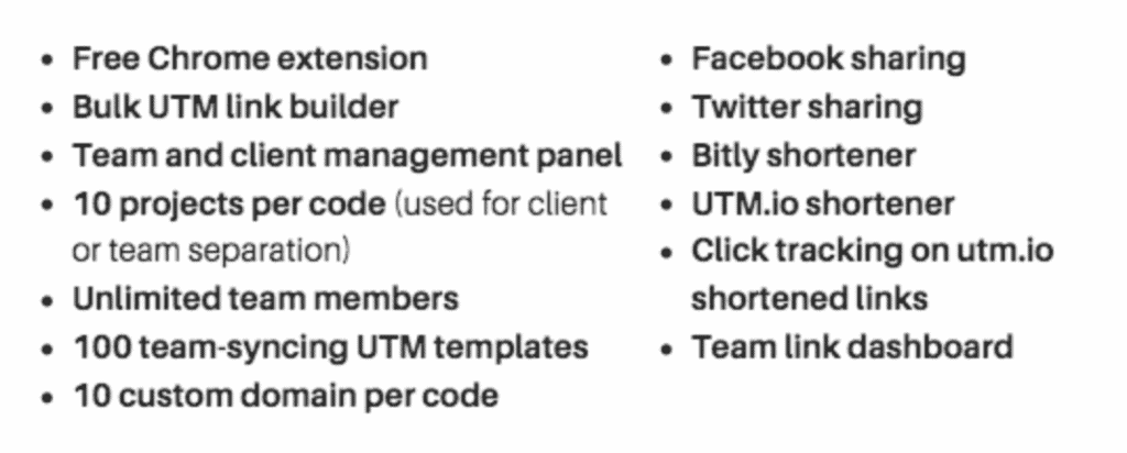 UTM.io (Build and track UTM links) Lifetime Deal Giveaway (worth $1584) 🎁 4