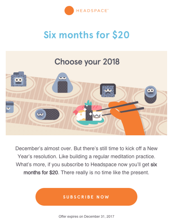 headspace-email-marketing