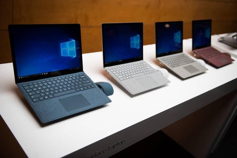 laptop-on-display