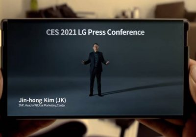 LG and TCL show off rollable phones at CES
