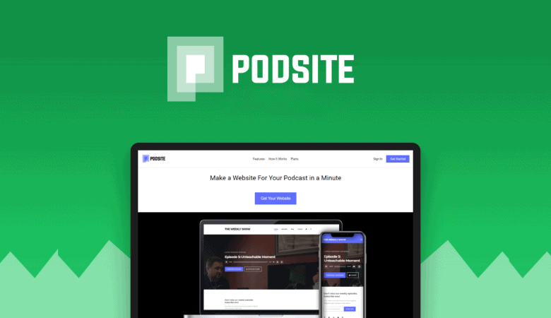 Increase Streams to your Podcast with Podsite SEO Optimized Website Builder 4