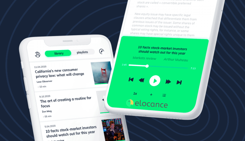 Convert Your Content Into a Podcast with Elocance Audio Reading App 3
