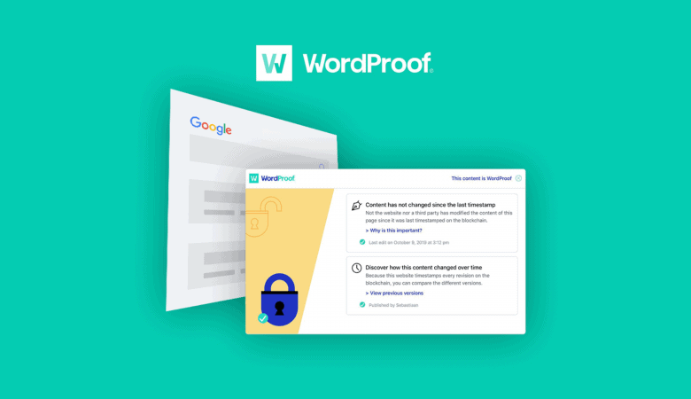 Enable Trust, Protect Your Content & Prepare for Next-Generation SEO with WordProof 3