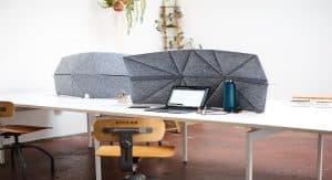 The Fort Freestanding Divider for Desks