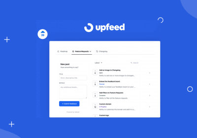 Collect Feedback in the Product Feature Voting Board & Roadmap With Upfeed 13