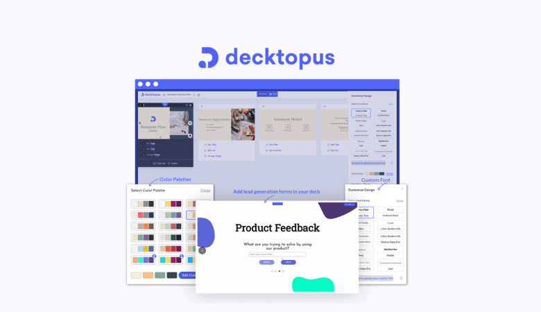 Create Stunning Presentation Decks with Premade Templates in Minutes with Decktopus 5