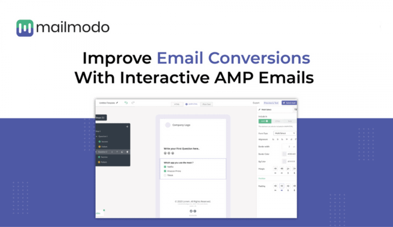 Get 3x More Conversions with Mailmodo Interactive AMP Emails 4