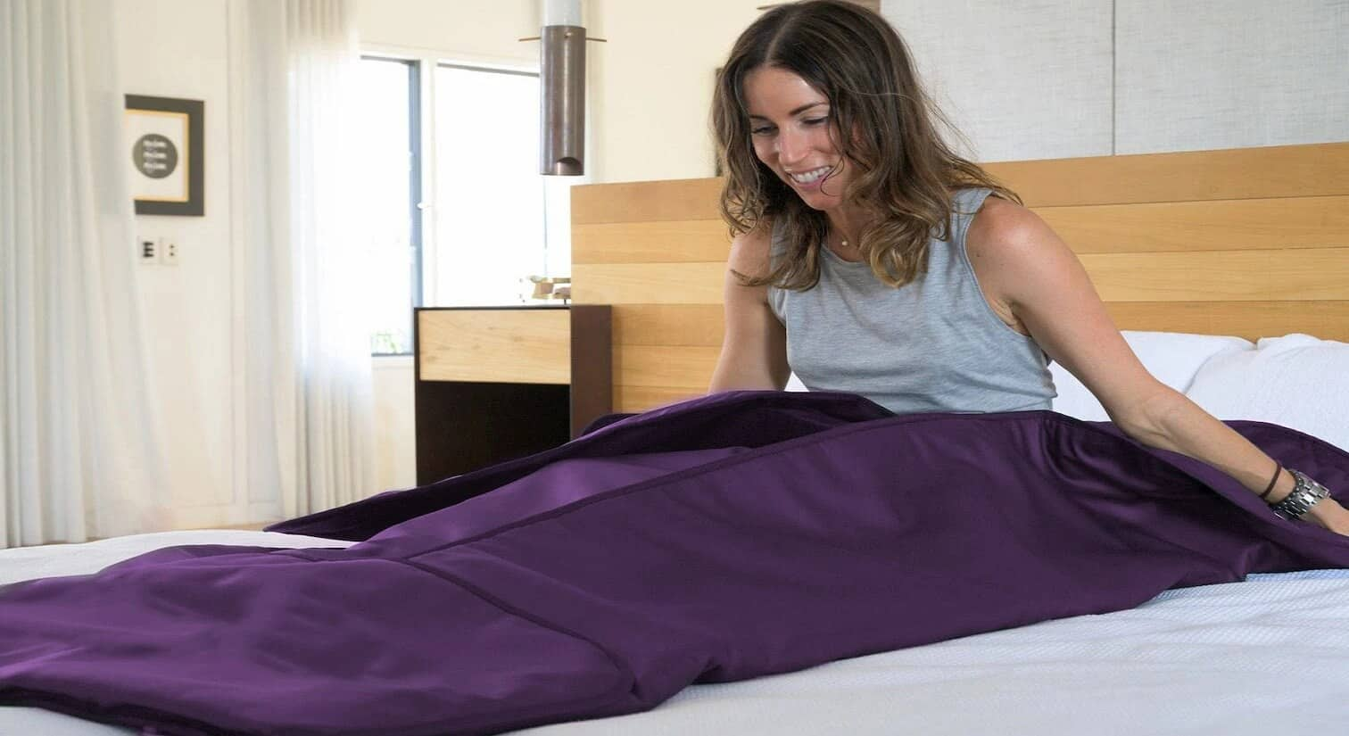 This Blanket Is a Portable Sauna and Can De-Stress You From Your Workday