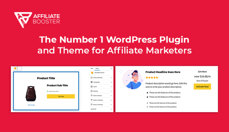Increase Your CTR and Sales with Affiliate Booster Affiliate Marketing WP Theme and Plugin 6