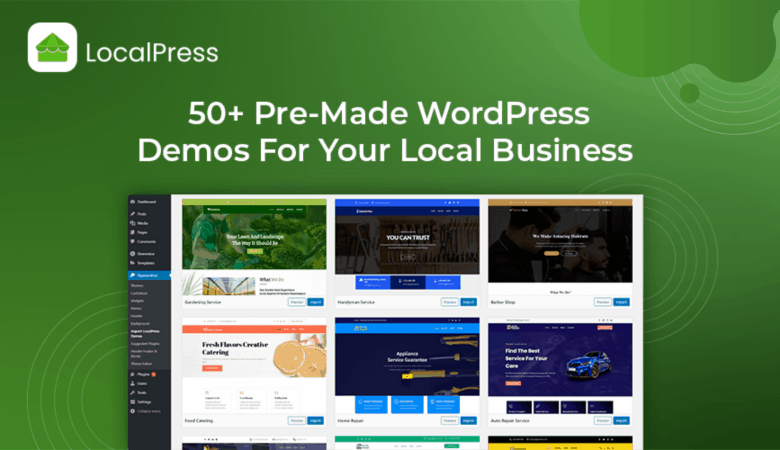 Build the Best Website for your Local Business using the LocalPress WordPress Theme 4