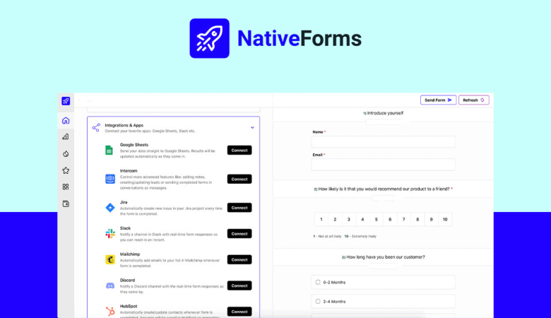Build Hassle-free Web Forms, Surveys & Polls with Native Forms 6