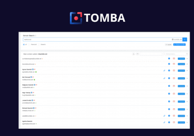 Easily Find the Professional Email Address of Contacts With Tomba 12
