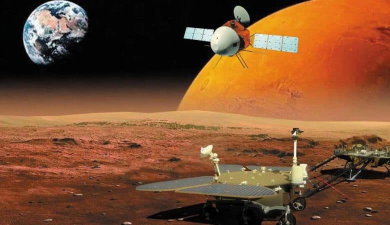 China landed its Mars rover on the first try