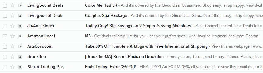 Compelling Subject Lines