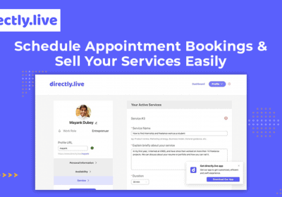 Schedule Appointment Bookings and Sell Your Services Easily with Directly.live 8