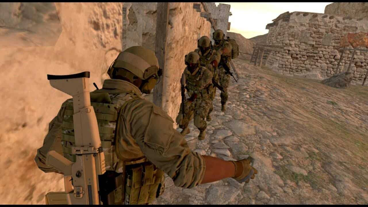 Facebook acquires the developers of VR military simulator Onward