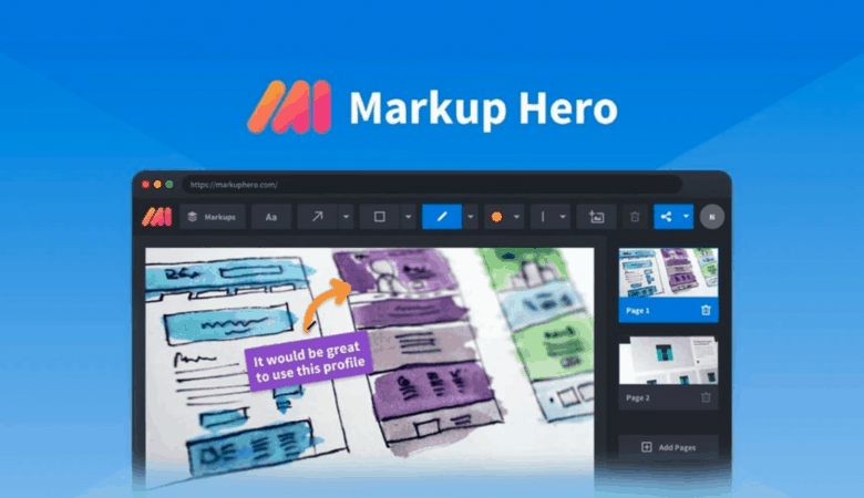 Share Information More Easily with Markup Hero Screenshot & Annotation App 2