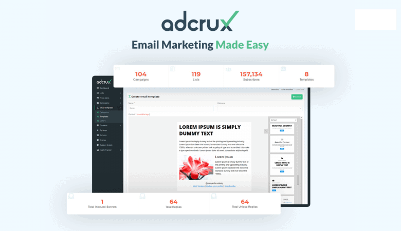 Send Email Campaigns That Get Delivered In The Priority Email Box with Adcrux 4