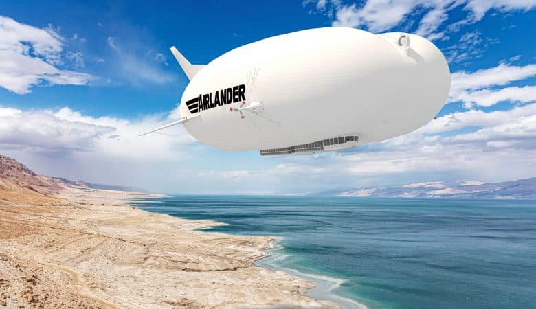 Blimps could reduce air travel CO2 emissions