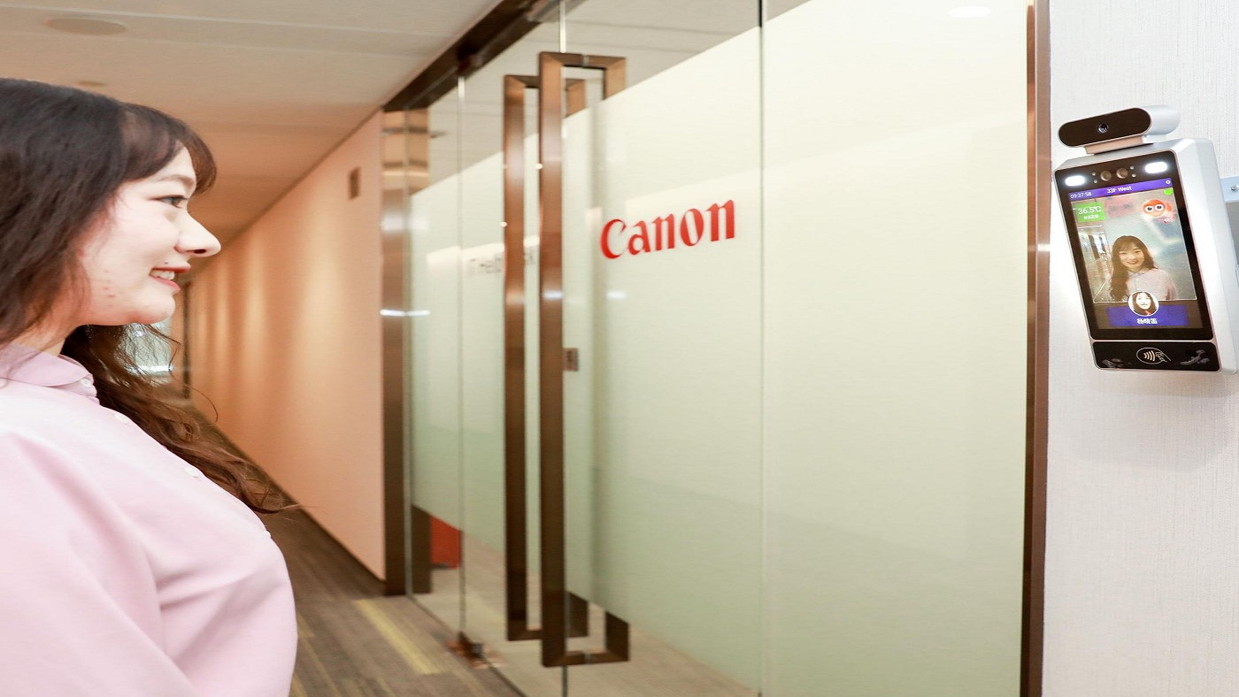 Canon put AI cameras in its Chinese offices that only let smiling workers inside