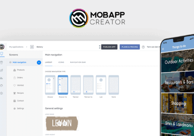 Create Easy-to-use Drag & Drop Mobile Apps for Android and iOS With MobAppCreator 6