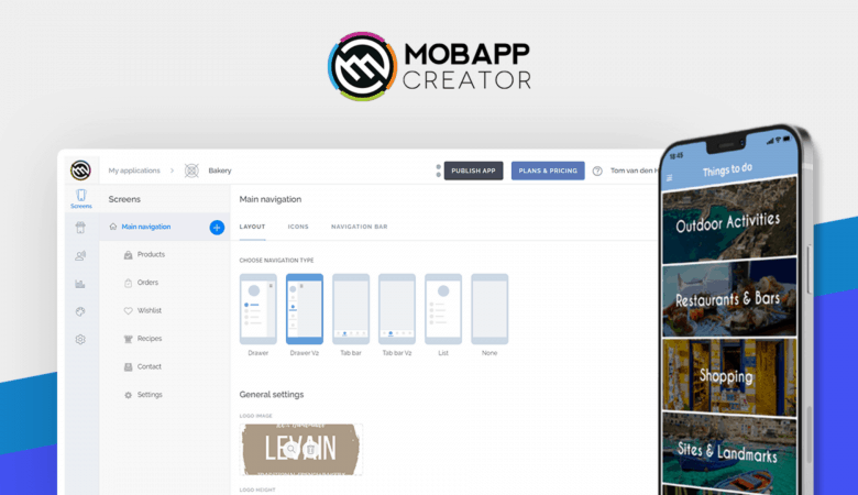 Create Easy-to-use Drag & Drop Mobile Apps for Android and iOS With MobAppCreator 2
