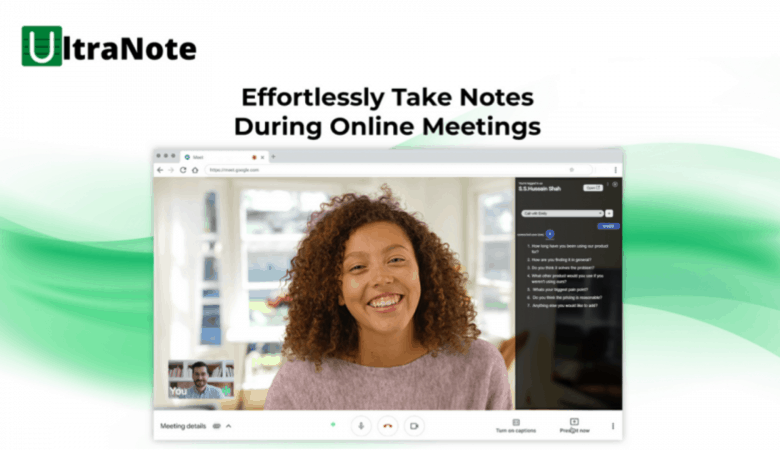 Make and Share Rich Notes During Live Meetings With UltraNote 2