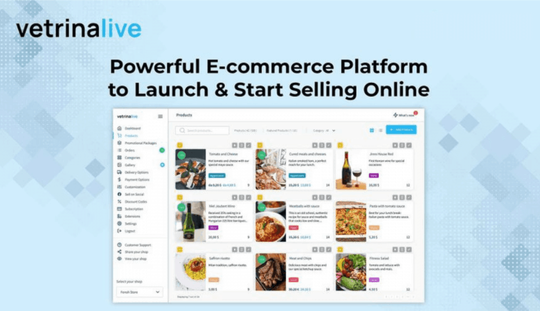 Create Your Own Ecommerce Store & Bring Your Business Online With Vetrinalive 3