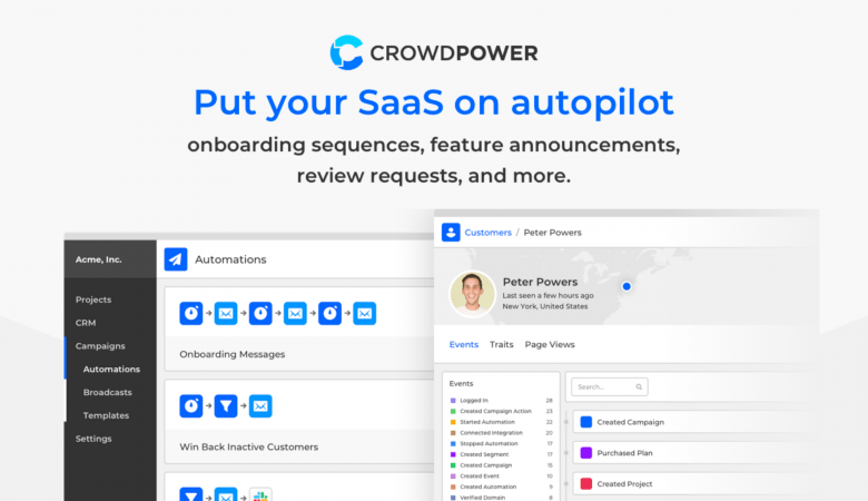 Send Automated Email Marketing Campaigns With Behavior-based Segmentation Using CrowdPower 3