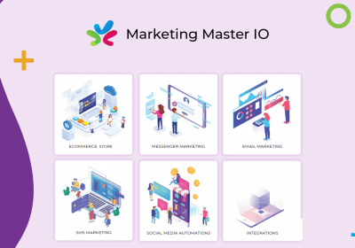 Create Unlimited Chatbot Flows, Live Chat, Ecommerce Stores, Funnels With Marketing Master 10
