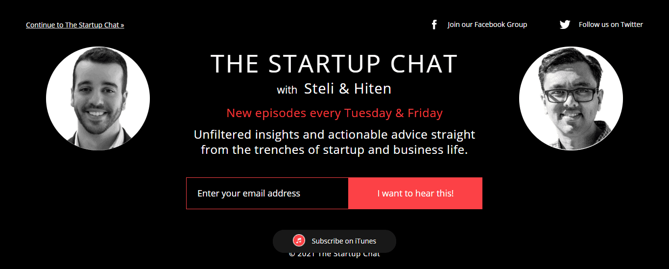 Startup-Chat