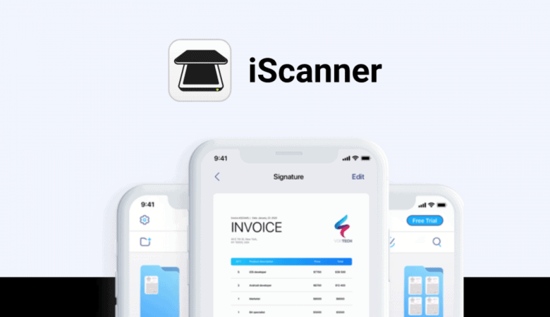Scan Any Kind of Documents, ID Cards, Books, Receipts, Notes With iScanner App 3