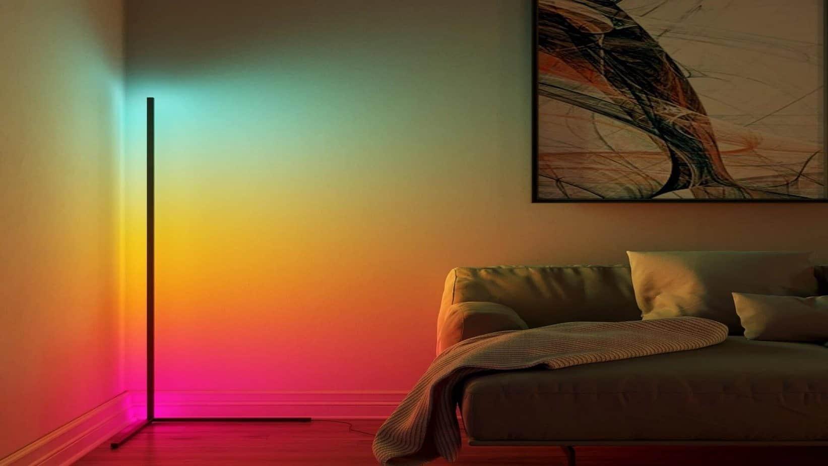 Designer LED Lamp to Improve Mental Health
