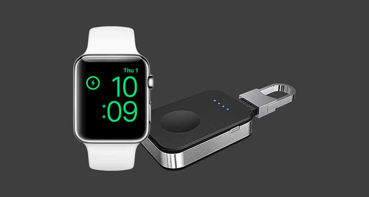 Get an Additional 15 Percent off the Sale Price of This Apple Watch Keychain Charger