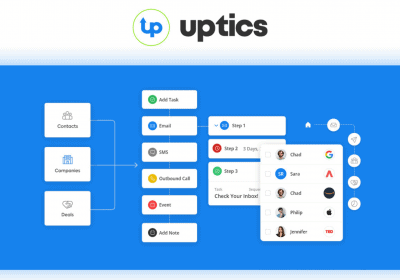 Book Highly Qualified Sales Meetings With Your Ideal Prospects Using Uptics 3